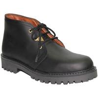 Zapatos Hombre Botas de caña baja Otro Bota cordones tipo Pánama negro