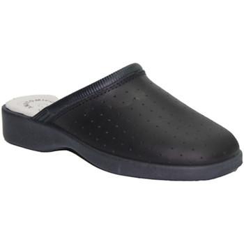 Zapatos Mujer Zuecos (Clogs) Made In Spain 1940 Zueco trabajo piel azul