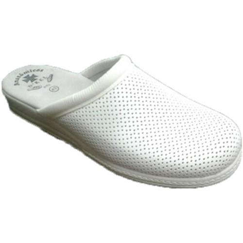 Otro zueco de trabajo blanco zapatos zuecos clogs for Zapatos de trabajo blancos