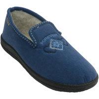 Zapatos Mujer Pantuflas Muro Zapatilla cerrada azul