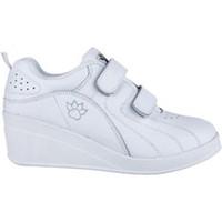 Zapatos Mujer Zapatillas bajas Kelme Zapatillas deporte con cuña velcro blanco