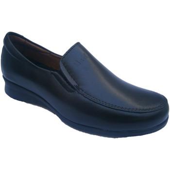 Zapatos Mujer Mocasín Pitillos Zapato sport muy cómodo negro