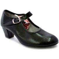 Zapatos Mujer Zapatos de tacón Carolina Guillo Zapato baile de tacón para niña y señora negro