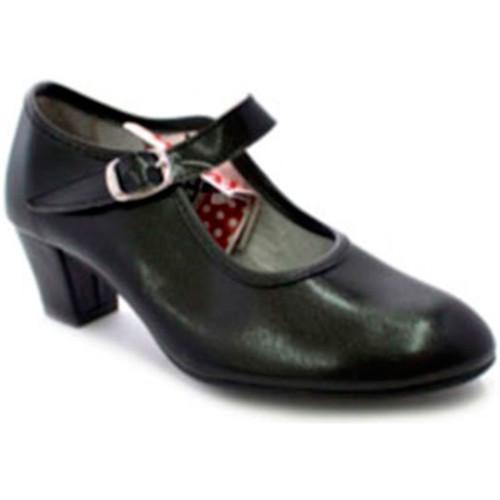 Heeled Fille Danse Et Chaussures Dame Caroline Guillo En Noir Taille 18 5n1cic5G