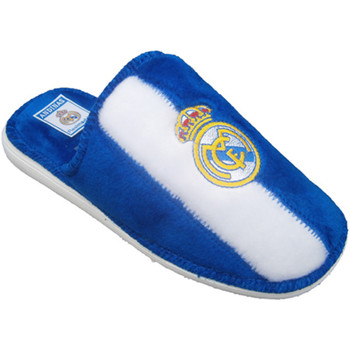 Zapatos Pantuflas Andinas Zapatillas tipo chancla del Real Madrid blanco