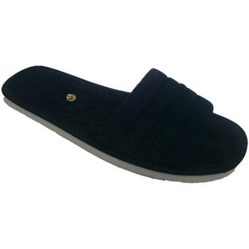 Zapatos Zuecos (Mules) Despinosa Chancla ultraligera de toalla azul