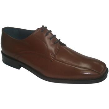 Zapatos Hombre Derbie Made In Spain 1940 Zapato cordones vestir marrón