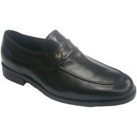 Zapatos Hombre Mocasín Made In Spain 1940 Zapato vestir ancho especial muy cómodo negro