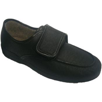 Zapatos Hombre Mocasín Calzacomodo Zapatilla polipiel muy cómodas negro