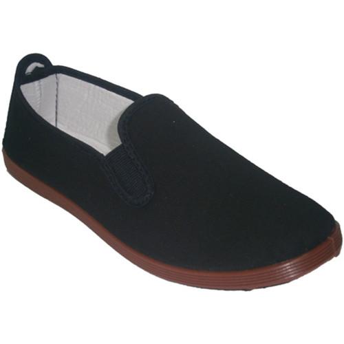 Irabia Zapatillas para taichi kunfú y yoga negro - Zapatos Slip on