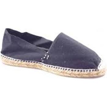Zapatos Alpargatas Made In Spain 1940 Alpargatas de esparto plana negro