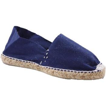 Zapatos Alpargatas Made In Spain 1940 Alpargatas de esparto plana azul