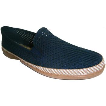 Zapatos Hombre Pantuflas Calzacomodo Zapatilla rejilla azul