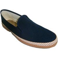 Zapatos Hombre Pantuflas Calzacomodo Zapatilla de lona azul