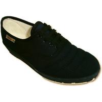 Zapatos Mujer Tenis Calzacomodo Zapatilla cordones cuña para andar azul