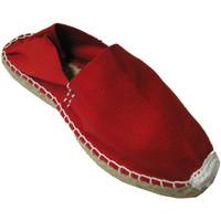 Zapatos Alpargatas Made In Spain 1940 Alpargatas de esparto plana rojo
