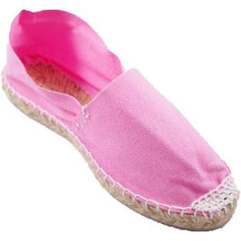 Zapatos Alpargatas Made In Spain 1940 Alpargatas de esparto plana rosa