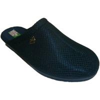 Zapatos Mujer Zuecos (Clogs) Made In Spain 1940 Zuecos rejilla forro de toalla de algodó azul