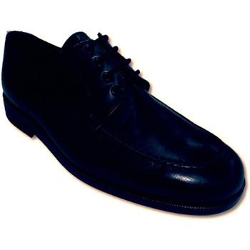 Zapatos Hombre Derbie Made In Spain 1940 Zapatos cordones de ancho especial negro