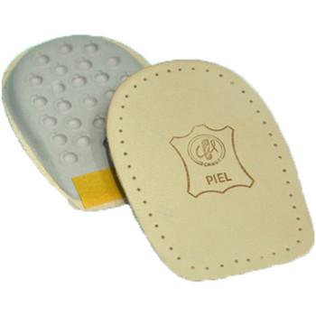 Accesorios Complementos de zapatos Cairon Talonera de cuero unisex para alzar un p marrón