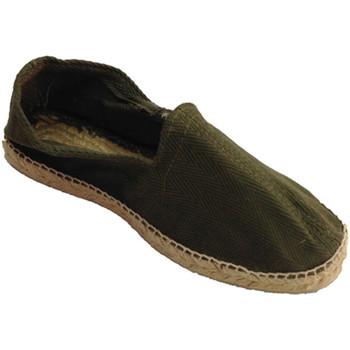 Zapatos Hombre Alpargatas Made In Spain 1940 Alpargatas de esparto tela de espiga y s blanco