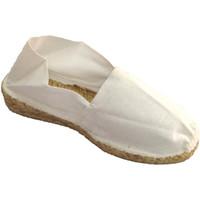 Zapatos Mujer Alpargatas Made In Spain 1940 Alpargata de esparto con cuña baja blanco