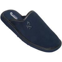 Zapatos Hombre Pantuflas Andinas Zapatillas chanclas cerradas por la punta azul