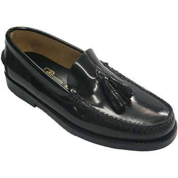 Zapatos Hombre Mocasín Edward's Castellanos con borlas negro