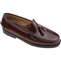 Zapatos Hombre Mocasín Edward's Castellanos con borlas violeta
