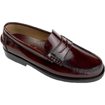 Zapatos Hombre Mocasín Edward's Castellanos tallas grandes del 47 al 48 burdeos