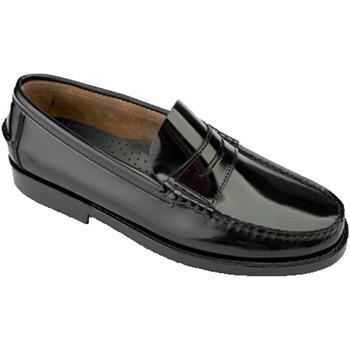 Zapatos Hombre Mocasín Edward's Castellanos tallas grandes del 47 al 48 negro