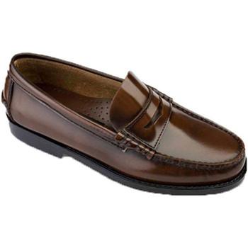 Zapatos Hombre Mocasín Edward's Castellanos tallas grandes del 47 al 48 marrón