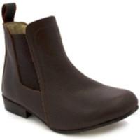 Zapatos Mujer Botines Danka Botín para niña media caña marrón