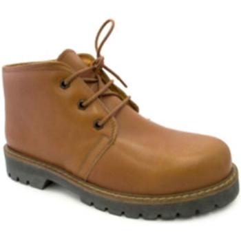Zapatos Hombre Botas de caña baja Danka Bota tipo pánama marrón