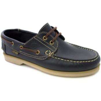 Zapatos Hombre Zapatos náuticos Danka Náutico suela fina azul