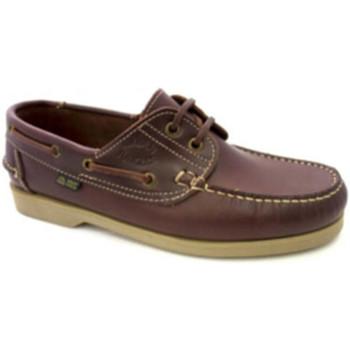 Zapatos Hombre Zapatos náuticos Danka Náuticos suela fina marrón