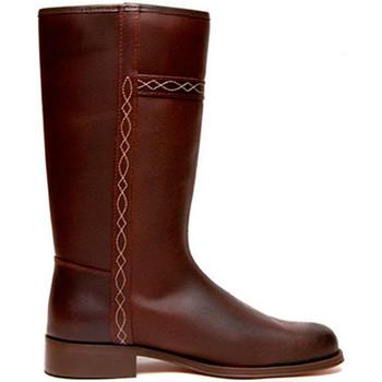 Zapatos Mujer Botas urbanas Danka Bota campera Valverde del Camino hombre y mujer marrón