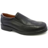 Zapatos Hombre Mocasín Danka Zapato camarero sin cordones negro