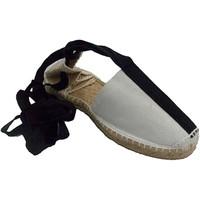 Zapatos Alpargatas Made In Spain 1940 Alpargatas de cintas pastor bailes regio blanco