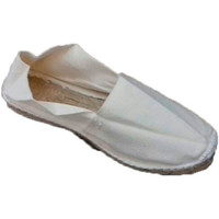 Zapatos Alpargatas Made In Spain 1940 Alpargatas de esparto planas beige