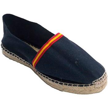 Zapatos Alpargatas Made In Spain 1940 Alpargatas de esparto bandera de España azul