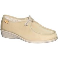 Zapatos Mujer Derbie Doctor Cutillas 731 beige