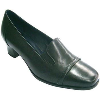Zapatos Mujer Zapatos de tacón Pomares Vazquez Zapato sport mujer con pala con gomas negro