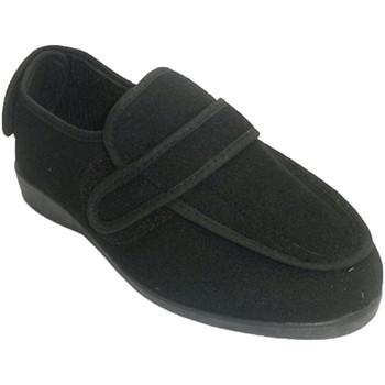 Zapatos Mujer Pantuflas Doctor Cutillas Zapatilla mujer desmontable para pies mu negro