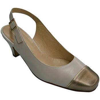 Zapatos Mujer Sandalias Pomares Vazquez Zapato mujer punta metalizada cerrada ta azul