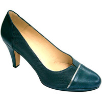 Zapatos Mujer Zapatos de tacón Pomares Vazquez Zapato mujer cerrado con plataforma abertura en el empeine gris
