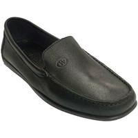 Zapatos Hombre Mocasín Edward's Mocasín hombre piel muy blandita suela cosida negro
