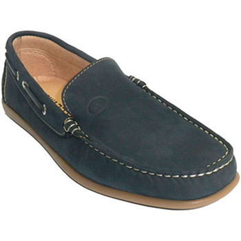 Zapatos Hombre Mocasín Edward's Mocasín verano hombre tipo náutico suela cosida azul