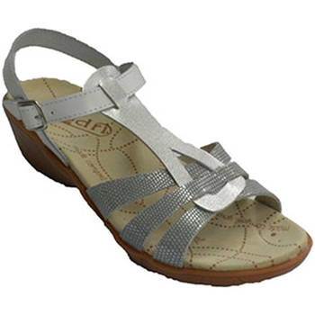 Zapatos Mujer Sandalias Rodri Sandalia vestir mujer abrochadas con hebilla al tobillo blanco