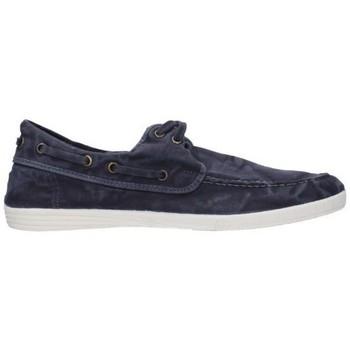 Zapatos Hombre Alpargatas Natural World 303E bleu